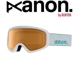 ANON by BURTON Insight Goggle Schneebrille White Amber / Women