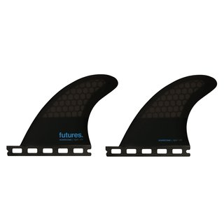 FUTURES Quad 2 Fin Set 3.75 Flat Honeycomb