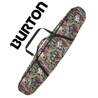 BURTON Boardbag, Snowboardtasche Space Sack Stickers Print 156