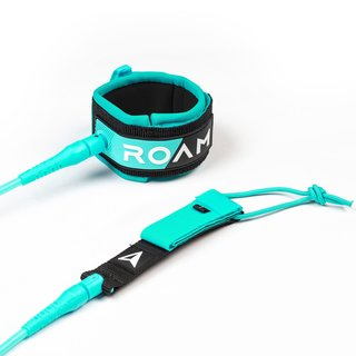 ROAM Surfboard Leash Premium 9.0 274cm 7mm Grün