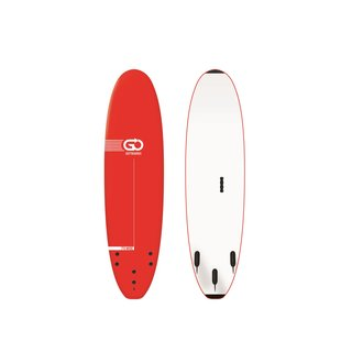 GO Softboard School Surfboard 7.0 wide body Rot
