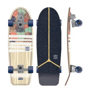Flying Wheels Surf Skateboard 30 IZU Hydrangea