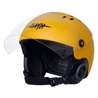 GATH Helm RESCUE Safety Gelb matt Gr L