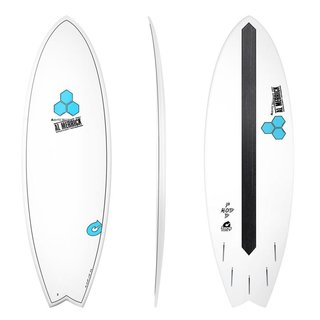 Surfboard CHANNEL ISLANDS X-lite Pod Mod 6.2 weiss