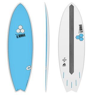 Surfboard CHANNEL ISLANDS X-lite Pod Mod 5.10 blau